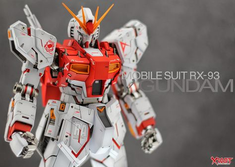 GUNDAM GUY: MG 1/100 RX-93 Nu Gundam Ver.Ka - Customized Build