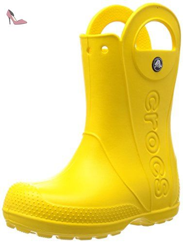 Freesail Shorty Rain Boots, Femme Bottes, Noir (Black), 37-38 EUCrocs