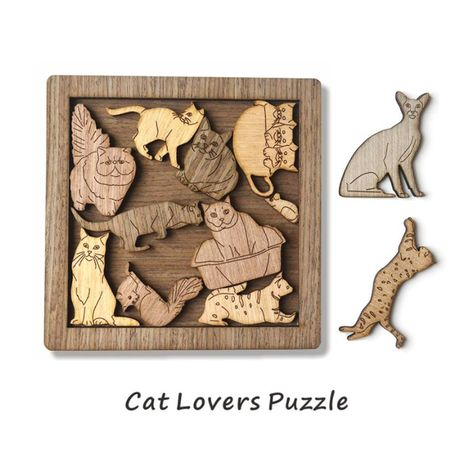 Cat And Mouse Jigsaw Puzzle Game