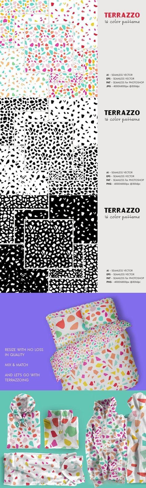 Terrazzo Seamless Patterns 2