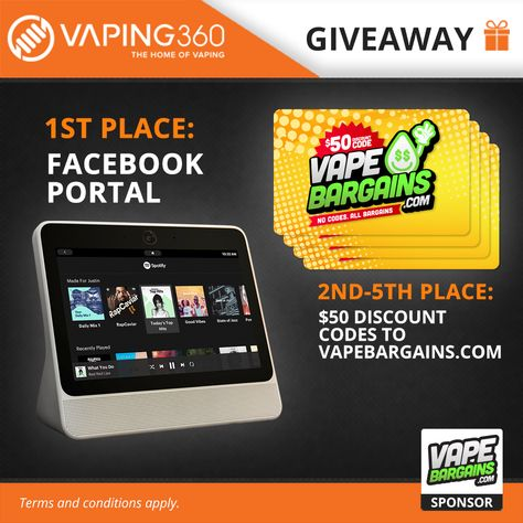 Win Free Vape Gear with our Vaping Giveaways! in 2019 | AWESOME!