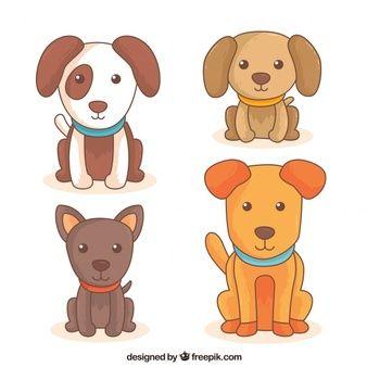 Puppies Fotos Y Vectores Gratis Multyashnye Sobaki Milye Sobaki Sobaki