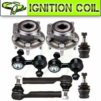 Advertisement Ebay Both 8 Front Wheel Hub Bearing Ball Joint Sway Bar For Subaru Outback 2005 09 In 2020 Subaru Outback Legacy Outback Toyota Solara