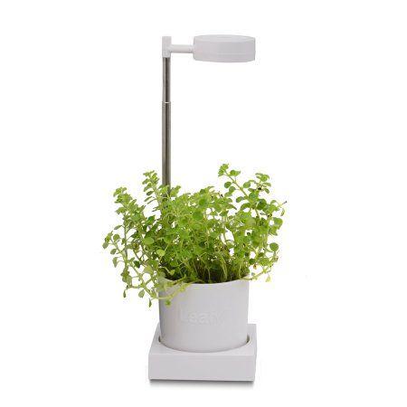 Leafy Desktop Hydroponics Grow Light System Walmart Com Grow Lights Hydroponics Plant Lighting