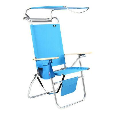 17 Inches High Seat Aluminum Big Tycoon Folding Beach Folding Beach Chair Beach Chairs Backpack Beach Chair