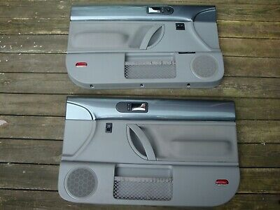 Ad Ebay Vw Beetle Door Panels Dark Gray Oem Nice 98 99 00 01 02 03 04 05 06 07 08 09 10 Vw Beetles Panel Doors Volkswagen Beetle Interior
