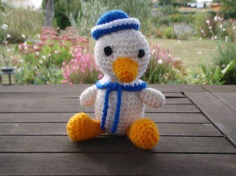 Crochet Un Canard