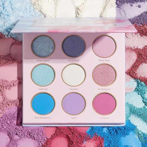 Like a sweet treat for your face, this pastel palette serves up all the colors you need for a soft glam moment 🍦🍥