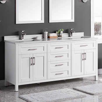 Lakeview 72 Vanity By Ove In 2020 72 Vanity Bathroom Vanity