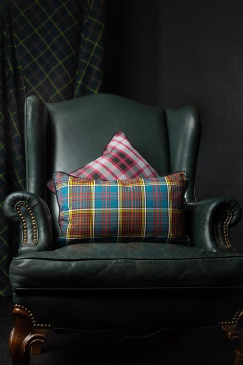 Our Luxury Non-Wool Tartan Library is where you'll find this choice of tartans used for this exquisite cushion style. Choose your non-wool tartan and create an heirloom-quality cushion that will be an elegant focal point of your room and a sure conversation starter. This is a wonderful gift to your household, for a dear friend, relation or the bride & groom. Available in a range of sizes from tiny wee to floor cushion size. Handmade to your specifications Luxury non- wool registered tartan T