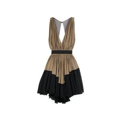 Alexander Wang Brown and Black Dress