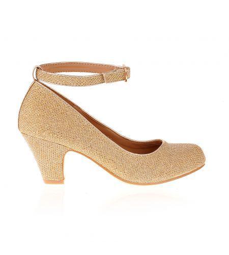 Szpilki Dla Dzieci Zlote Na Czolenka Obcasie Male Rozmiary Heels Shoes Fashion