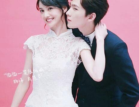 Zheng Shuang Photoshoot Zheng Shuang Yang Yang Actor Beautiful Smile Yang Yang Zheng Shuang