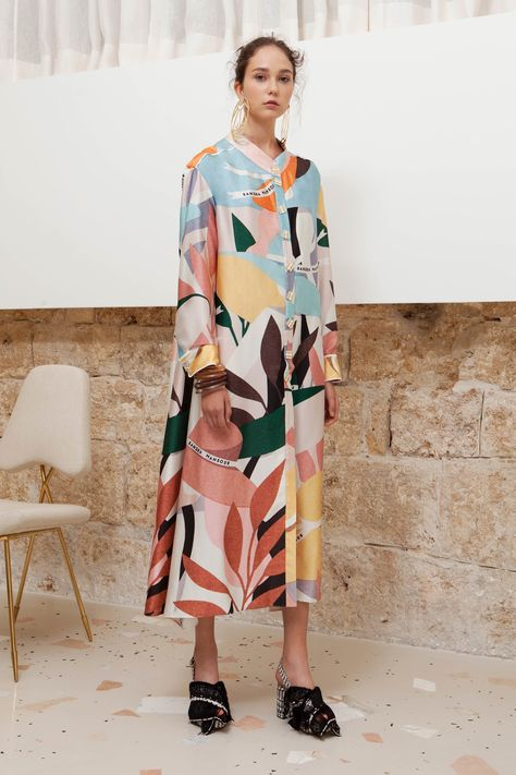 Sandra Mansour Spring 2019 Ready-to-Wear Collection - Vogue
