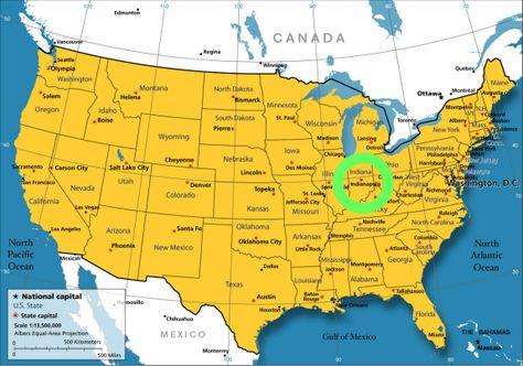 Semi Transparent Deck Fleck Landkarte Usa Usa Karte Und Landkarte