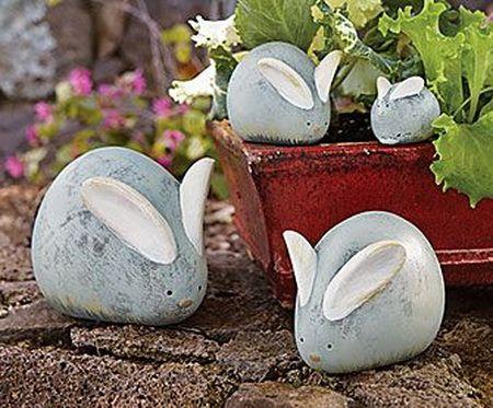 DIY Cobblestone Rabbit – Top Easy Design Idea For Backyard