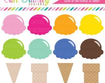 43++ Ice cream scoop clipart blue information