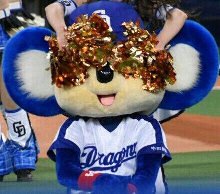 中日 ドアラ退場お姫様だっこ 日本s プロ野球ニュース ドアラ