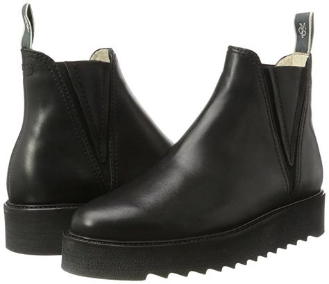 pretty nice great prices best deals on Marc O'Polo Damen Flat Heel Chelsea 70814245001125 Boots ...