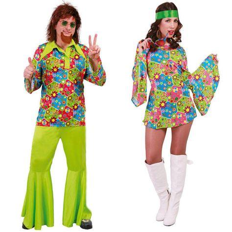 Costumes pour couples Hippie #déguisementscouples