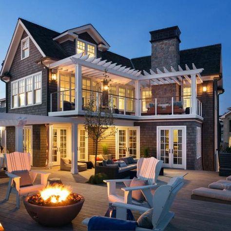 55+ Stunning House Exterior Design Inspirations Ideas Post #houseexterior #design #designidea