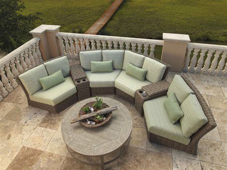 Ebel Laurent Wicker Sectional Lounge Set Laurntseclngset2