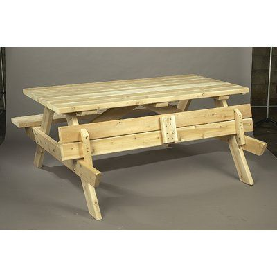 Rustic Cedar Square Cedar Wood Picnic Table Finish Natural Wooden Picnic Tables Cedar Furniture Furniture