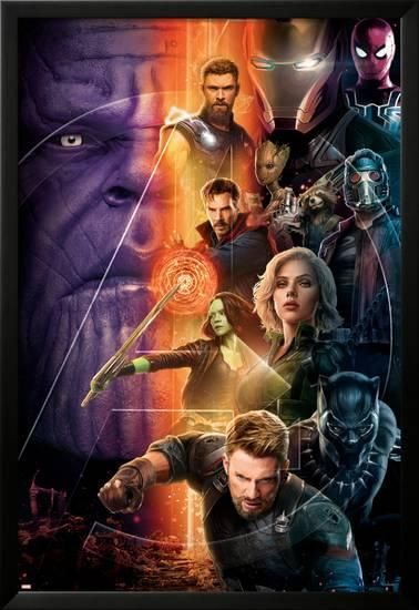 Avengers Infinity War Group Vertical Posters At Allposters Com Marvel Movies Marvel Cinematic Avengers