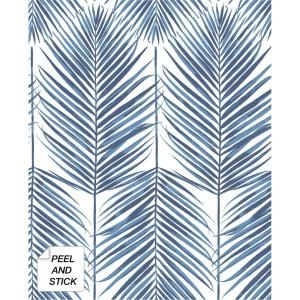 Nuwallpaper Neutral Paradise Grey Wallpaper Sample Nu2927sam The Home Depot Palm Leaf Wallpaper Leaf Wallpaper Wallpaper Roll