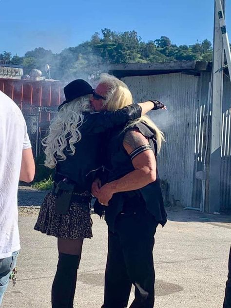 Their Love was Real... Their love had its own spoken language... #DuaneDogChapman loved his #Soulmate every second of every day they were together...and even after....No words could truly describe his love devotion to the #LoveOfHisLife #BethChapman 💗💗💗💗💗 #WGNAmerica #DogandBethLoveStory   #DogsMostWanted