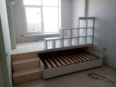 double pull-out bed podium in one .club - We choose interesting double pull-out bed podium in one … for you.
