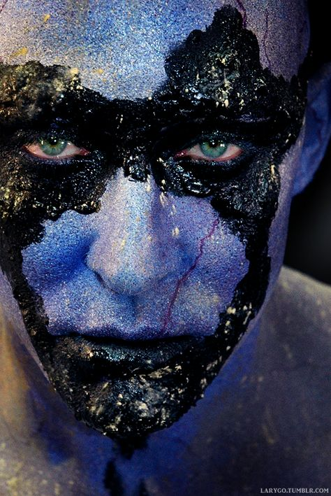 Lee Pace Undergoes Transformation To Play Ronan The Accuser in Marvel's Guardians of the Galaxy.