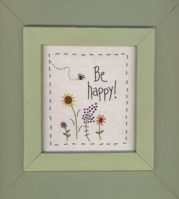 Be Happy Frame MAC-F07 Frame for Be Happy cross stitch
