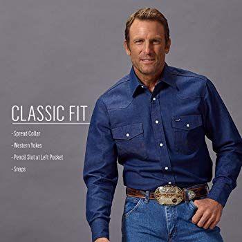 Wrangler Men's Western Work Shirt