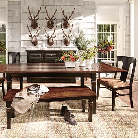 Toulon Small Extension Dining Table