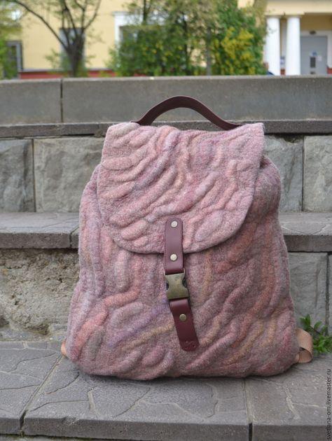 e2e77a4845ab Купить Валяный рюкзак - рюкзак, рюкзак женский, валяный рюкзак, рюкзак  ручной работы