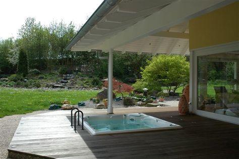 Whirlpool outdoor eingelassen  Bildergebnis für eingelassen terrasse jacuzzi | Hot tub ...