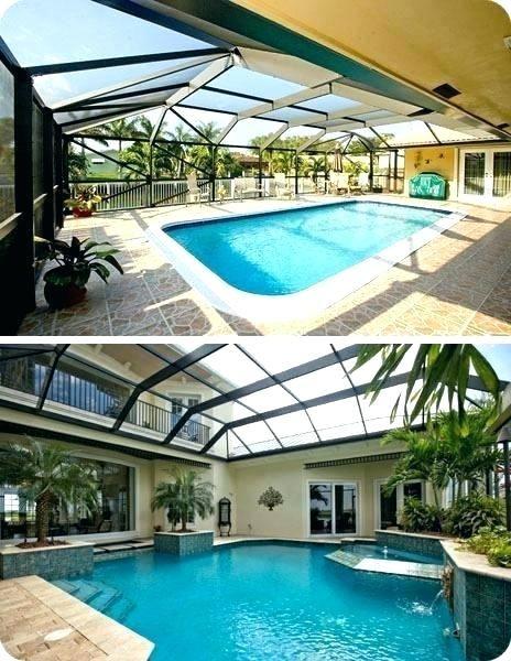 Sample Swimming Pool Enclosures Residential Photograph In 2020 Dream Pool Indoor Pool Houses Backyard Pool