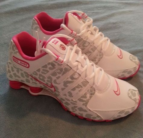 Pink+Leopard+Cheetah+Print+Nike+Shox+Brand+New+and+VERY+Hard+to+Find!!!+Size+8.5