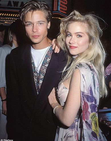 📸- Brad Pitt & Christina Applegate What's your Favorite Movie from these two!
