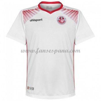 Tomar represalias Muestra margen  Camisetas De Futbol Selección Túnez Copa Mundial 2018 Primera Equipación |  Tunisia, Mens tops, Mens tshirts