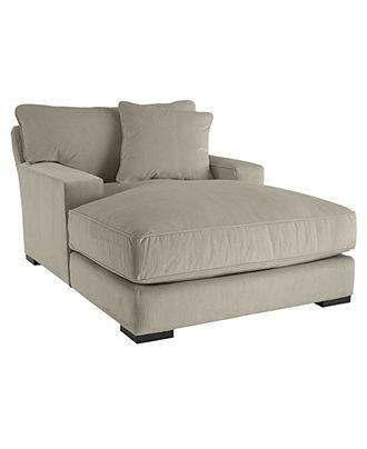 For gathering room, I must have this! I chaise lounged in it yesterday at Macy's and it was amazing.