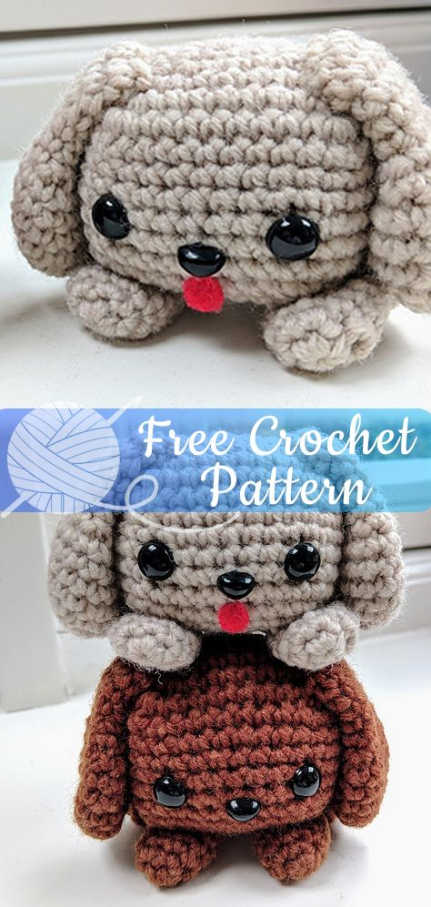 Cube Puppy Dog [CROCHET FREE PATTERNS] - All About Crochet
