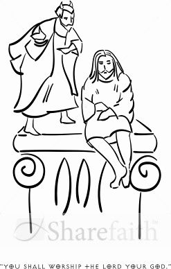 Temptation Coloring Pages Collection Coloring Pages For Kids Jesus