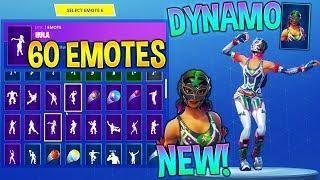 New Dynamo Skin With 60 Fortnite Dance Emotes New Skin New Skin Fortnite Dance