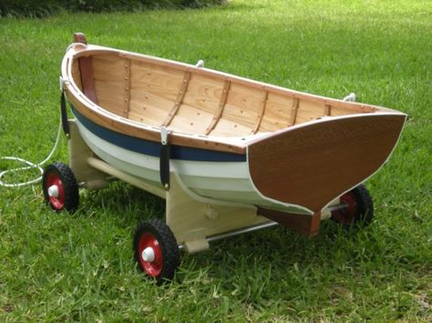 How cool is this boat wagon?