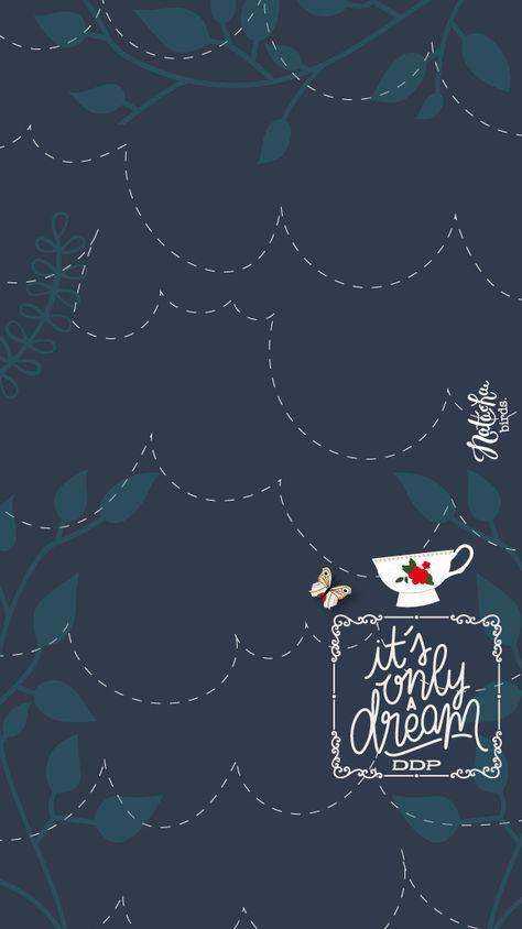 Pin Oleh Danielle Norr Di Alice In Wonderland Wallpaper Kertas Dinding Seni Wallpaper Ponsel