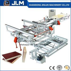 High Safety Factor Plywood Triming Saw Double Edge Trimming Saw Woodworking Machine From China Plywood Edge High Precision Woodworking Machine
