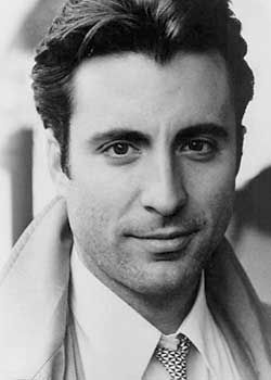 Andy Garcia..always loved him! He looks good in black and white.....