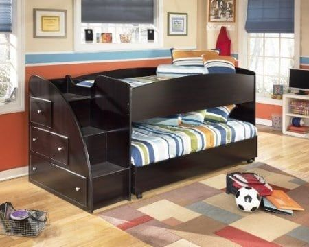 The 7 Best Bunk Beds With Stairs You Can Get On Amazon Modern Home Kids Bunk Beds Bunk Beds With Stairs Bunk Bed Designs